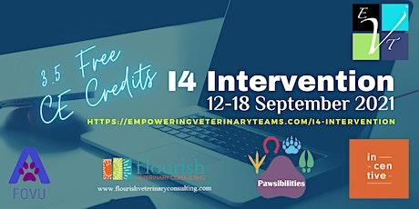 I4 Intervention tickets