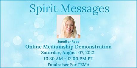 Spirit Messages - Online Mediumship Demonstration Fundraiser tickets