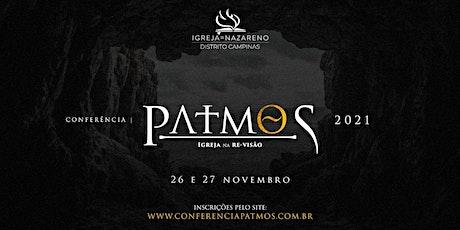 Conferência Patmos 2021 ingressos