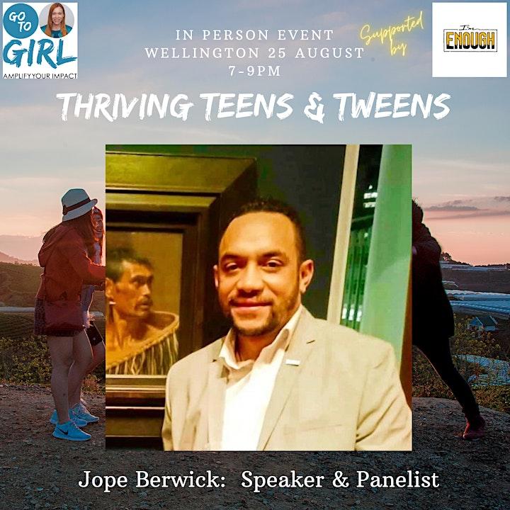 Thriving Teens & Tweens - Wellington image