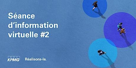 Séance d'information #2 - Bureau de Québec billets