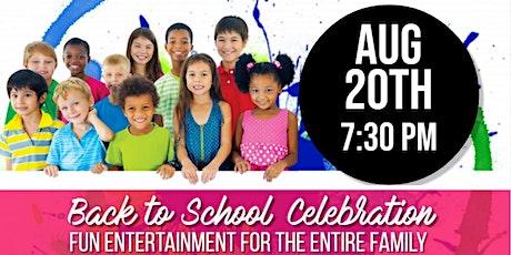 Fairburn Third Fridays on Main Street - Back to School Celebration tickets