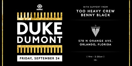Duke Dumont tickets
