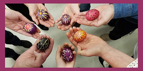 Ukrainian Egg Decorating FOR THE HOLIDAYS (Pysanky)-2 Week Class tickets