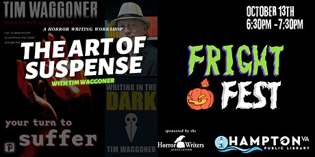 FRIGHT FEST The Art of Suspense with Tim Waggoner a Horror Writing Workshop entradas