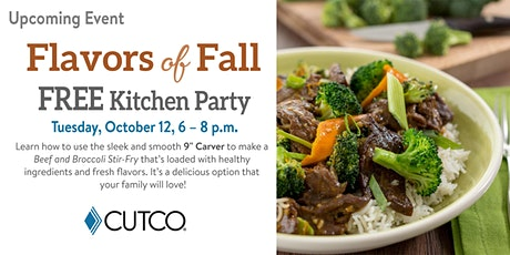 FREE Cooking Class: Flavors of Fall tickets