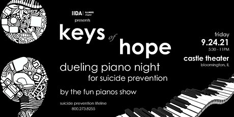 2021 Keys of Hope - Dueling Piano Night for Suicide Prevention tickets