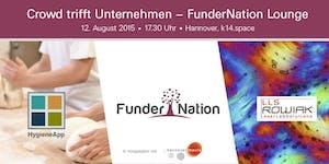 FunderNation Lounge - Crowd trifft Unternehmen