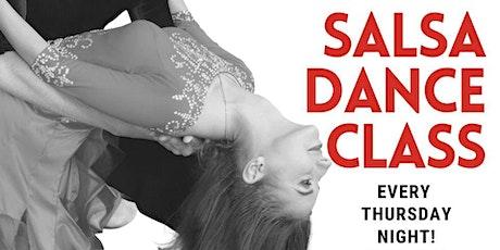 FREE Salsa Dance Class tickets