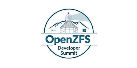 OpenZFS Developer Summit 2021 tickets