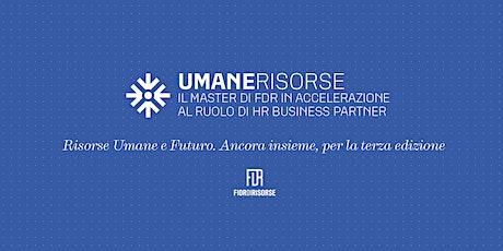 Master in accelerazione al ruolo di HR Business Partner - terza edizione biglietti