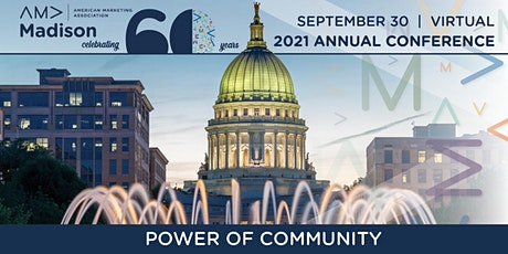 AMA Madison 2021 Annual Conference: Power of Community tickets