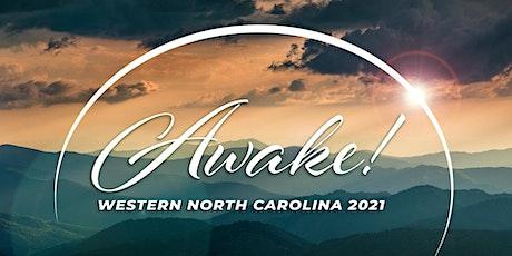 Awake! WNC 2021 Dinner tickets
