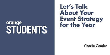Let's Talk About Your Event Strategy for the Year tickets