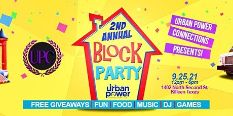 2nd Annual Block Party tickets