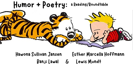 Humor & Poetry: a Reading/Roundtable tickets