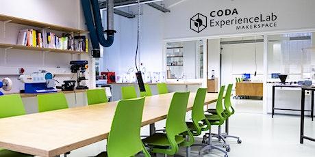 Snelcursus basisapparatuur Makerspace CODA ExperienceLab tickets