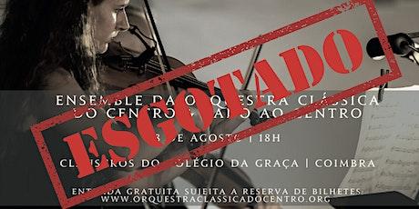 Fado Património Vivo -  Claustros do Colégio da Graça - Coimbra bilhetes