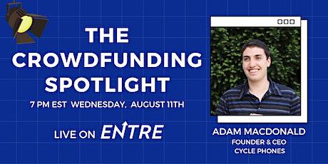 The Crowdfunding Spotlight tickets