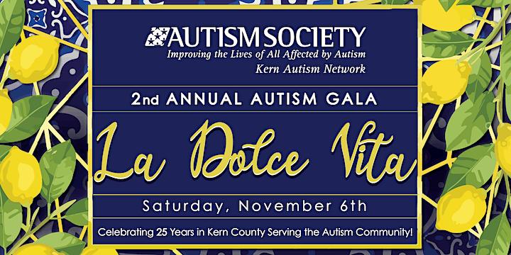 "The 2nd Annual Autism Gala ""La Dolce Vita"" image"