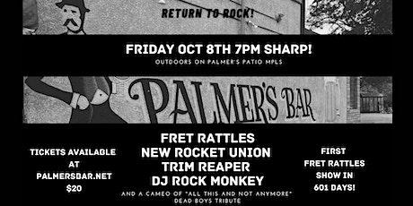 Fret Rattles, New Rocket Union, Trim Reaper & DJ's Rock The Monkey tickets