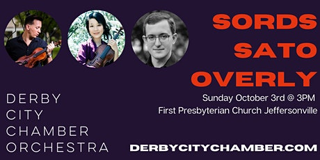Derby City Chamber Orchestra with Sords, Sato, and Overly tickets