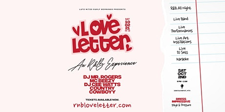 Love Letter tickets