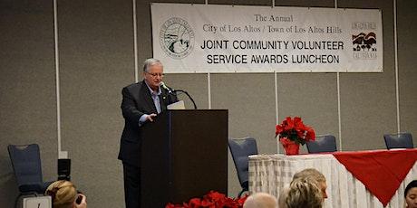 Joint Community Volunteer Service Awards of Los Altos and Los Altos Hills tickets