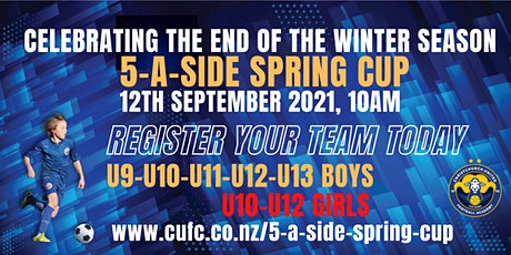 5-a-side Spring Cup tickets