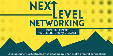 Next Level Networking tickets