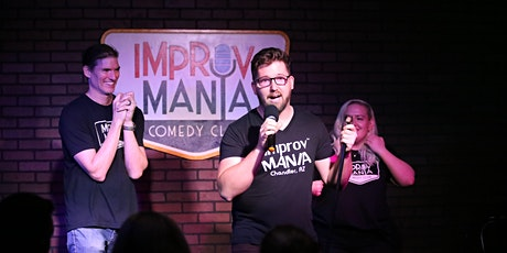 ImprovMANIA - 7PM Family-Friendly Improv Comedy Show tickets