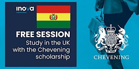 Atención Bolivia: Beca Chevening del Reino Unido, sesión en línea tickets