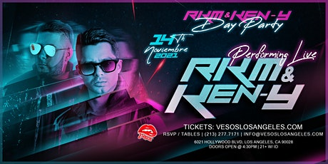 Vesos Day Party  with  RKM &  Ken Y Live November 14th tickets