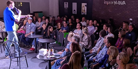 Fri & Sat 9PM Comedy Show - Unfiltered Improv & Standup at ImprovMANIA tickets