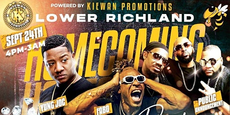 LOWER RICHLAND HOMECOMING TAILGATE PARTY tickets