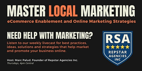 Master Local Marketing, eCommerce Enablement and Online Marketing entradas