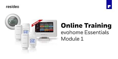evohome Essentials - Module 1 - 23.09.2021 tickets