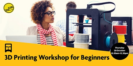 3D Printing Workshop for Beginners tickets