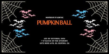 Pumpkin Ball entradas
