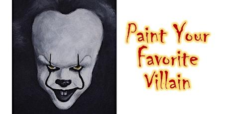 Paint Your Favorite Villain! tickets