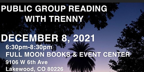 Public group reading with Trenny Simmons tickets