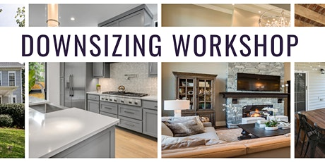 Downsizing Workshop with Rebecca Del Pozo tickets