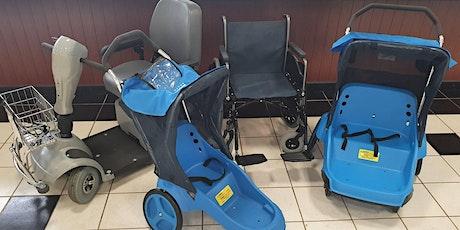 Electric Scooter, Wheelchair & Stroller Rentals - WEDNESDAYS tickets