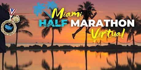 Run Miami Half Marathon Virtual Race tickets