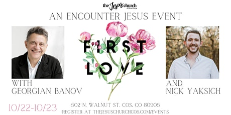 Encounter Jesus: First Love tickets