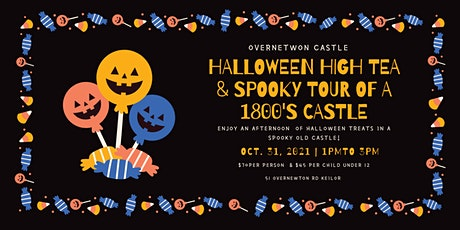 A Halloween High Tea Special in a Spooky Castle //Oct 31st tickets
