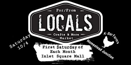 11/6 Locals Monthly Market Craft Show (For vendors only) tickets