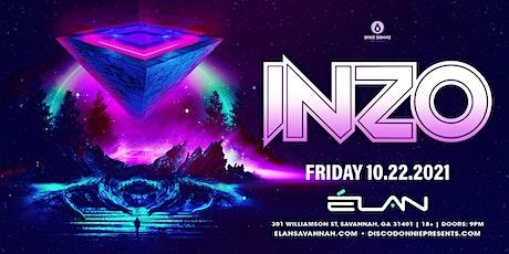INZO at Elan Savannah (Fri, Oct 22nd) tickets