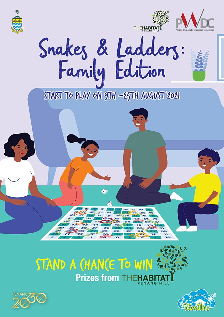 Snakes and Ladders : Family Edition image