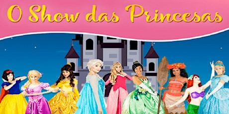 """Desconto! Espetáculo """"O Show das Princesas"""" no Teatro West Plaza ingressos"""